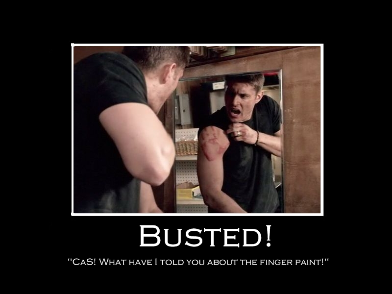 Busted AKA Finger Painting 2 by Castiel7 on DeviantArt