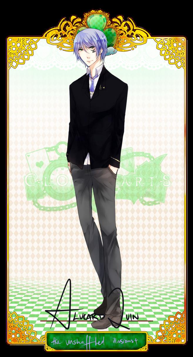 CH: Alucard Quin by tickitoki