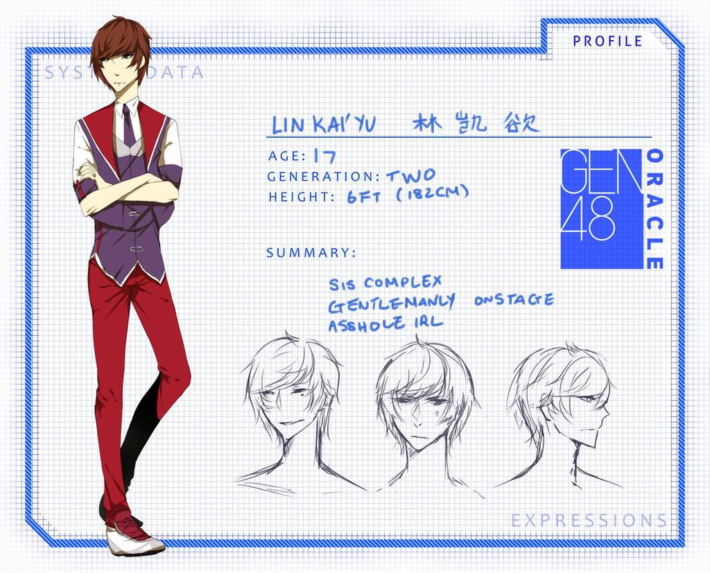 GEN48: Lin Kai'yu by tickitoki