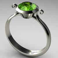 Peridot Ring by Utinni