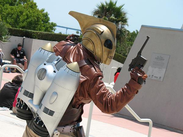 Rocketeer Comic-Con '09 by Utinni