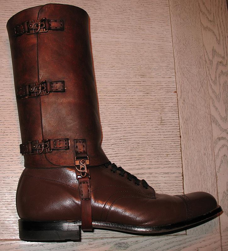 Steampunk Boots by Utinni