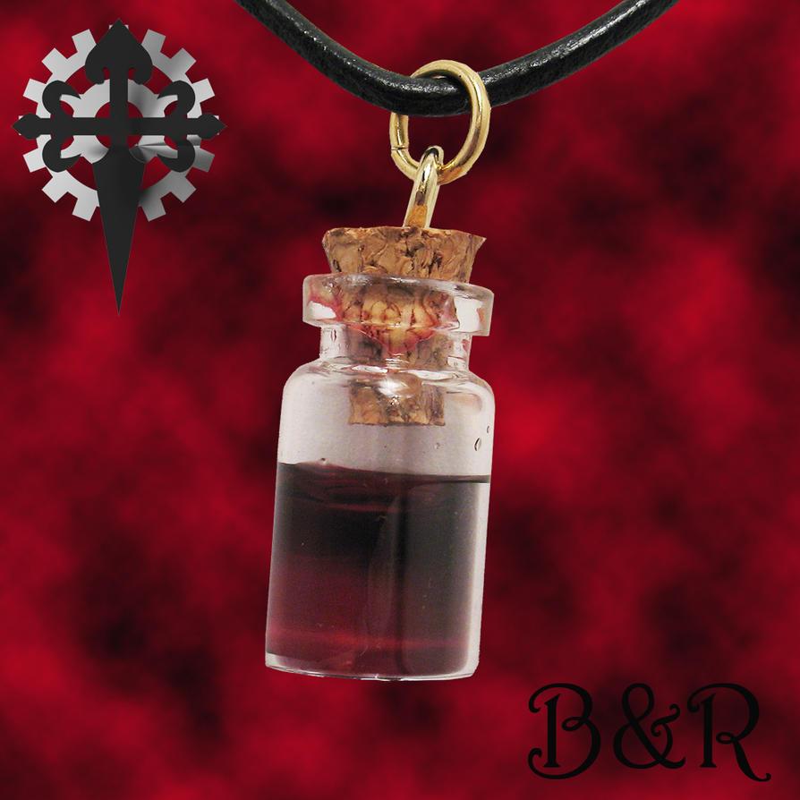 Vampire Blood Vial Pendant 1 By Utinni On Deviantart