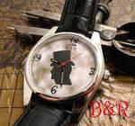 Steampunk Gents Silhoue Watch by Utinni