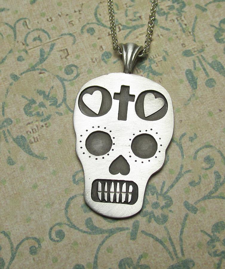 Dia de los Muertos Day of the Dead Sugar Skull by Utinni