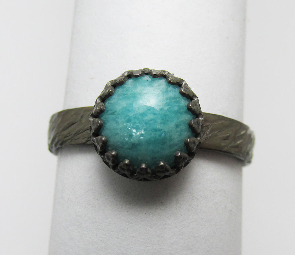 Amazonite Ring by Utinni