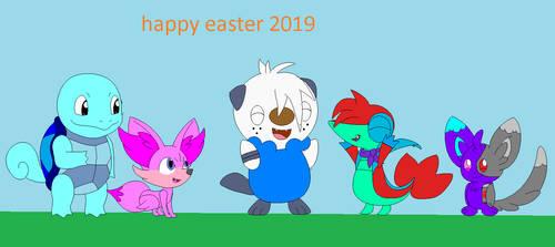 Happy Easter 2019 by theredbrickgamer