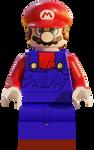 Lego Mario render