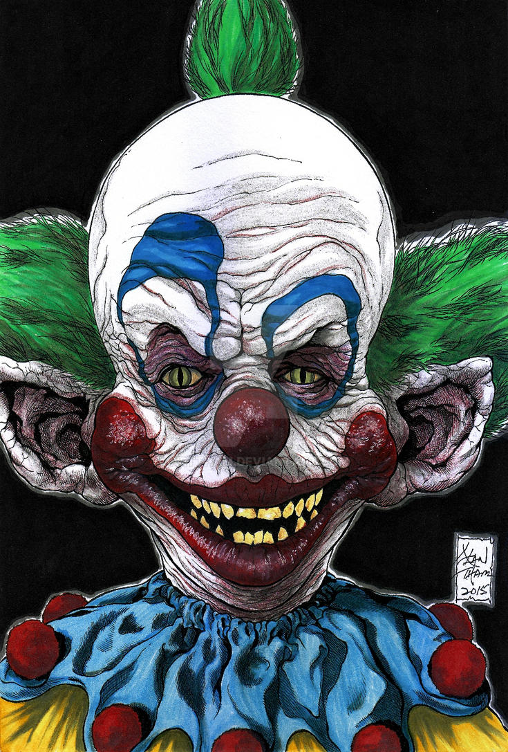 Shorty Killer Klown From Outer Space Colors By ARTTHAM