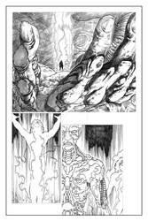 The Unforgivable #02 Soul Geist Page 12 Pencils