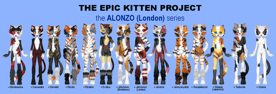 EKP - London Alonzo Series by jarbythedoor