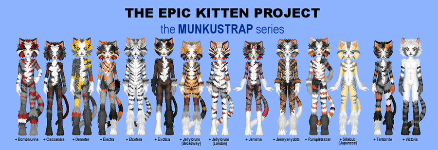 EKP - Munkustrap Series by jarbythedoor