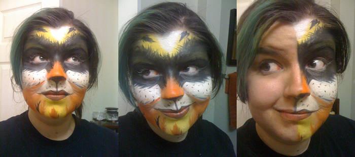 Harlequinn makeup