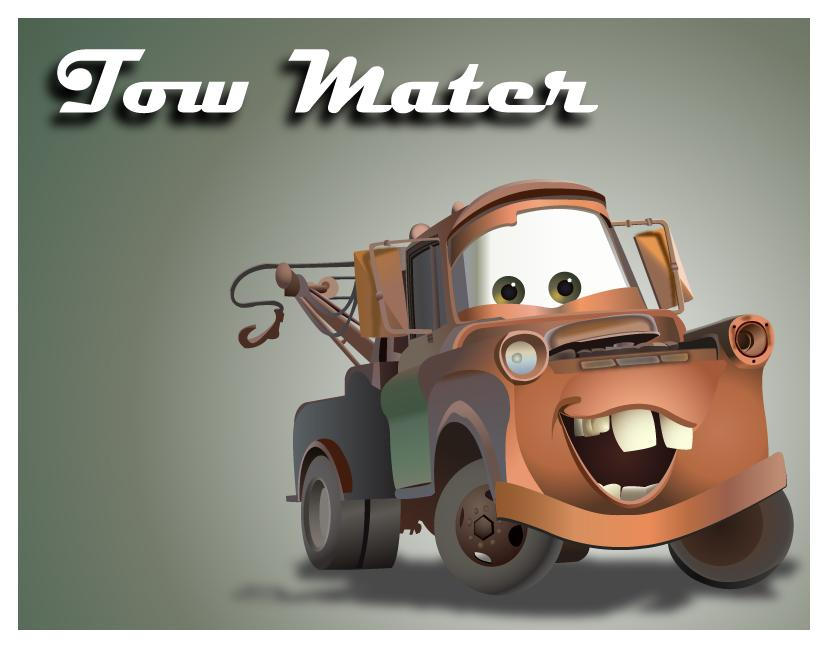Coolest Tow Mater Cake Ideas and Designs