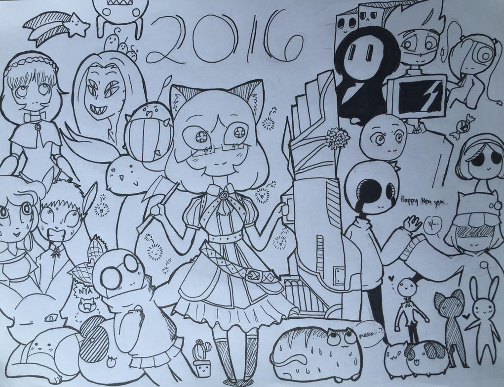 Happy New Years! by ShadeoftimeandPeace