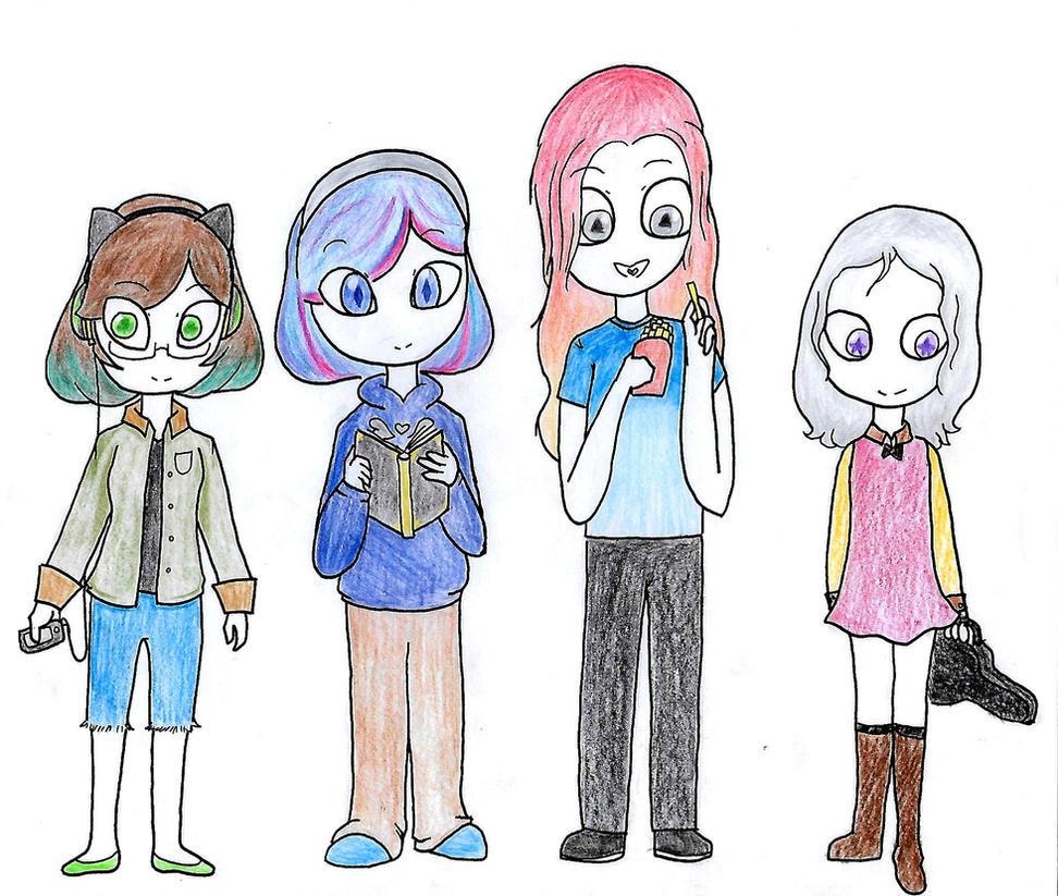 Meet the Girls by ShadeoftimeandPeace