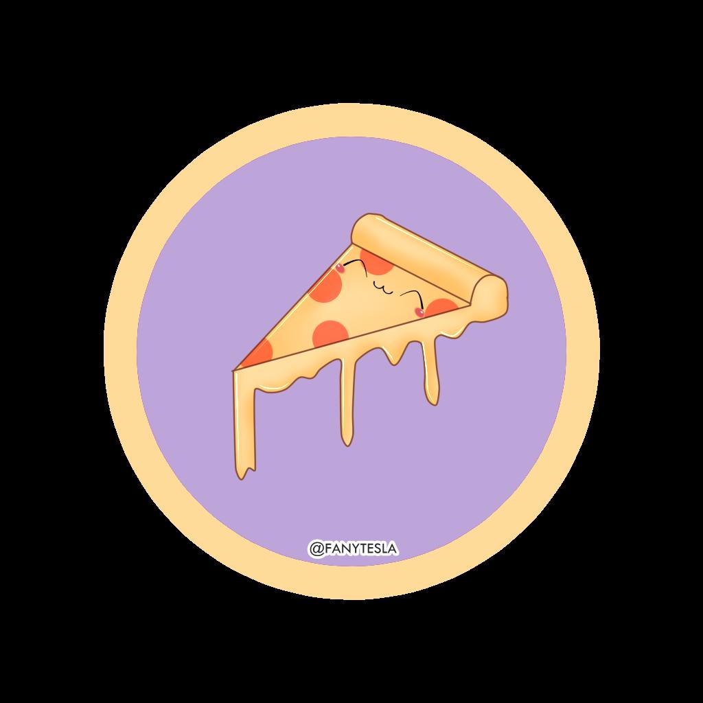 Pizza Kawaii By Any14 On Deviantart