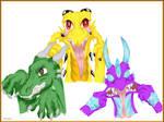 Crazy dragons