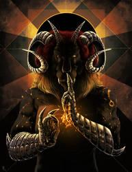 The god of black sun by Ruchiel