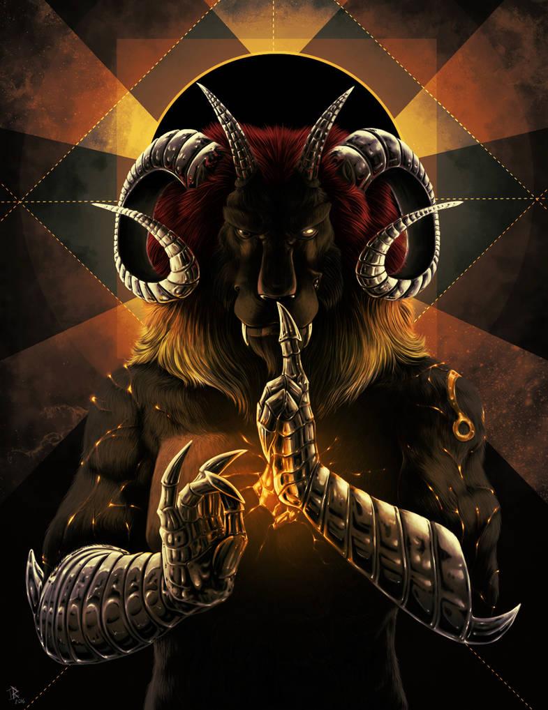 The god of black sun
