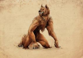 Werewolf by Ruchiel
