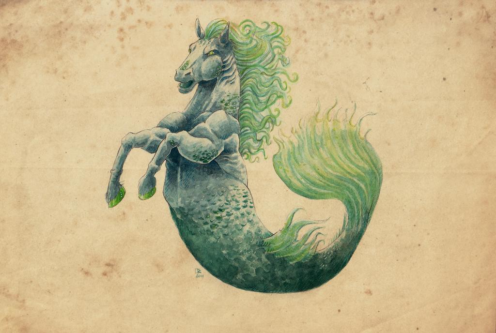 Hippocampus by Ruchiel