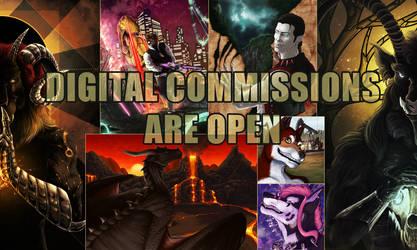 Digital commissions 2018 by Ruchiel