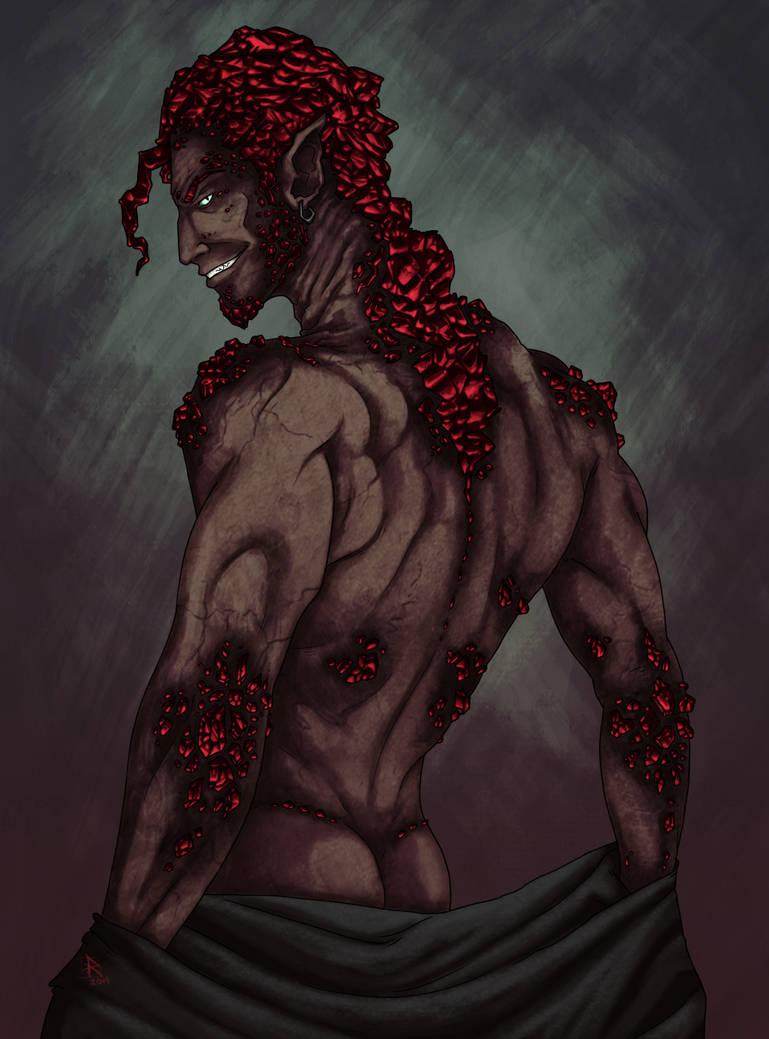 Crimson mane by Ruchiel