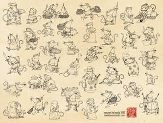 mice village by toruworld