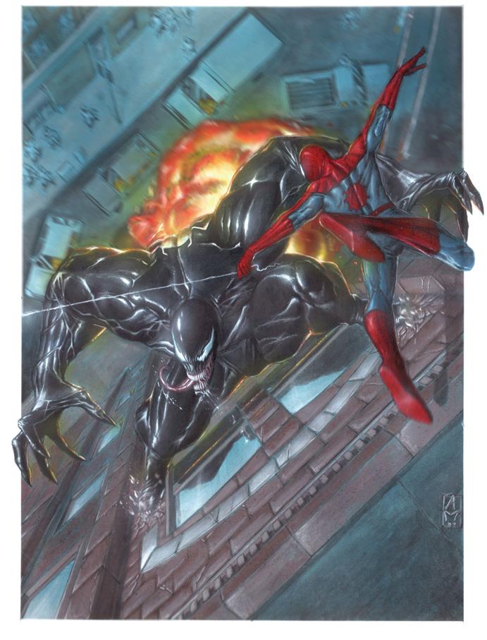 Imagenes de Calidad (no-anime) - Página 21 Spider_Man_vs_Venom_by_andrema