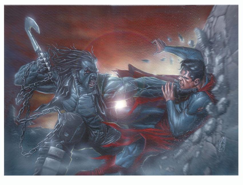 Imagenes de Calidad (no-anime) - Página 21 Lobo_vs_Superman_by_andrema