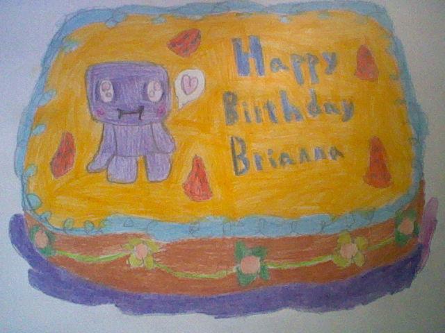 Happy Birthday Cake For Ann By Rubyumbreon On Deviantart