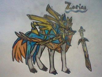 Zacian-Pokemon Sword and Shield by RubyUmbreon