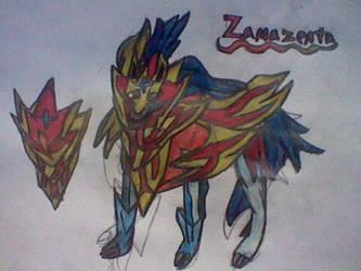 Zamazenta-Pokemon Sword and Shield by RubyUmbreon