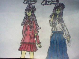 Miyako Miyazaki (2 Outfits)-Bamboo Blade by RubyUmbreon