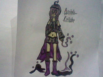 Anabelle Fallshu-Sina's Magic by RubyUmbreon