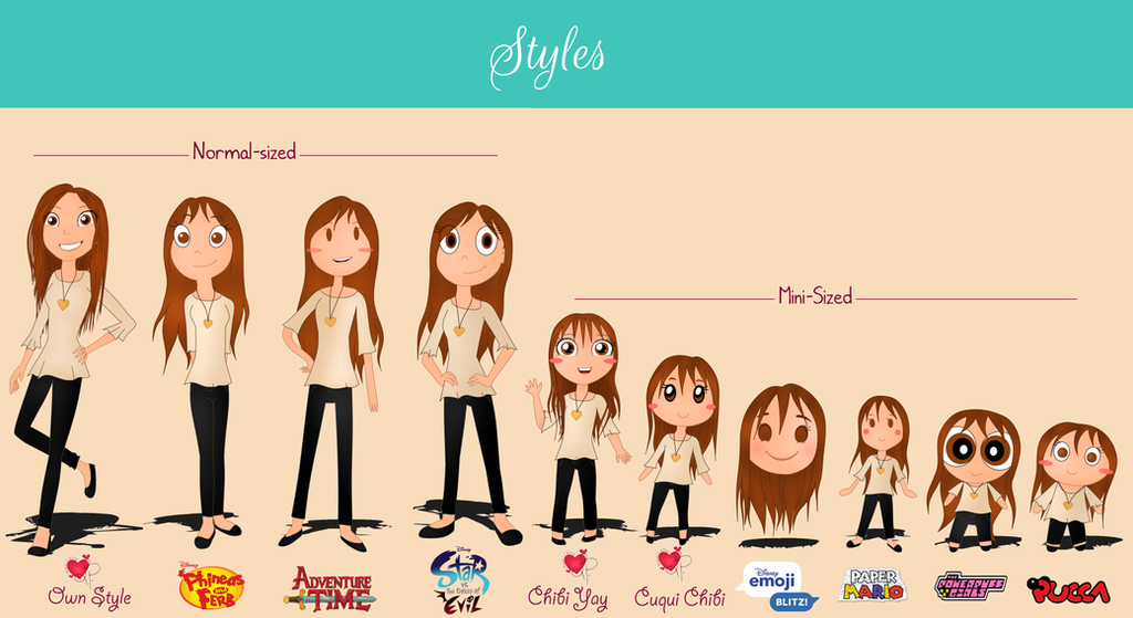 Official Commissions-styles Newwww by Jasmin32001