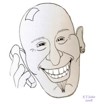 Cartoon Howie by Klench-Art