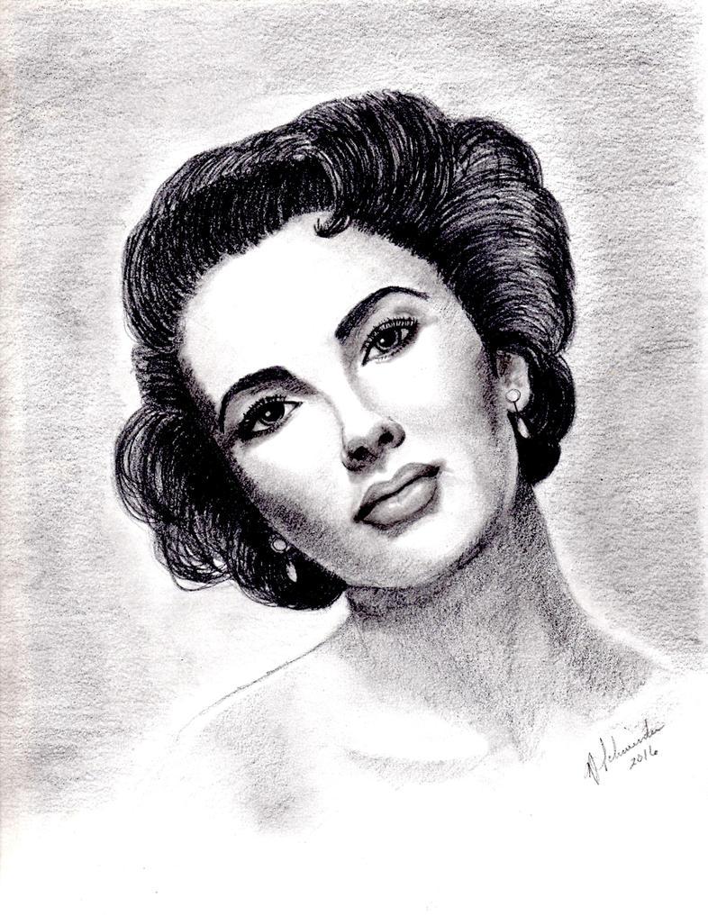 Elizabeth Taylor by Klench-Art