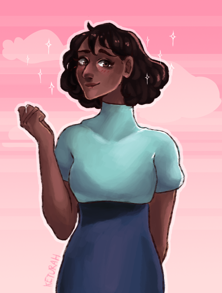 twitter ll tumblr ll Instagram Fanart for Connie from Steven Universe and her new precious hair cut! I want short hair so badly now! If you like my work, please consider commissioning me: - - - - -...