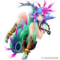 Neeko - League of Legends by mikumiku95