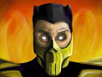 Scorpion Mortal Kombat 4 by 111Keiser