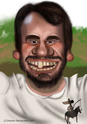 Caricature #03 by 111Keiser
