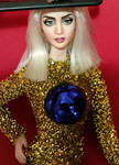 OOAK Doll Repaint Lady Gaga ARTPOP