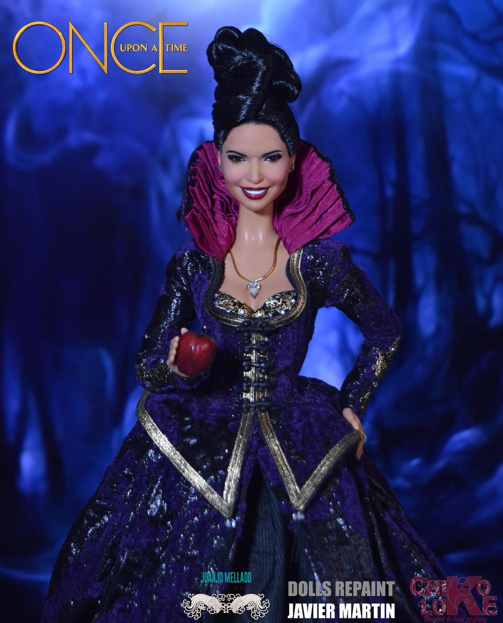Ouat Wallpaper: Regina. The Evil Queen. Once Upon A Time. OOAK By