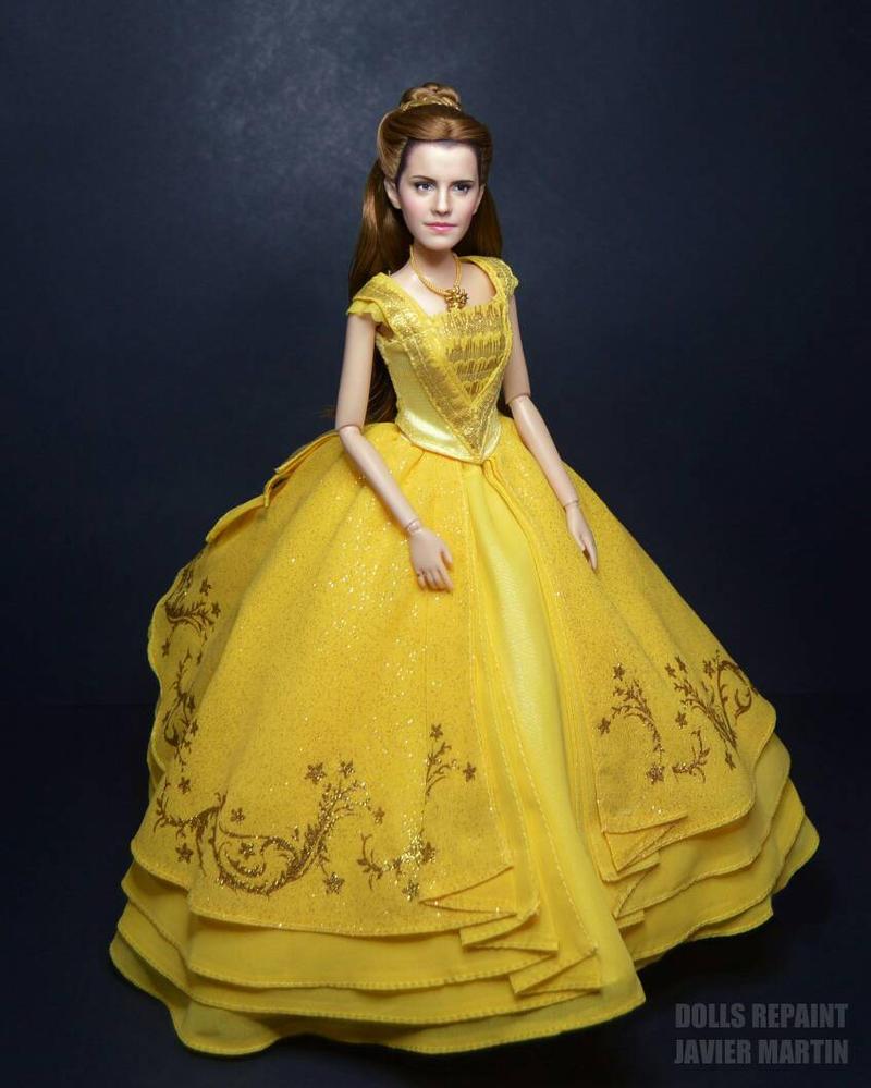 Emma Watson Dolls Repaint Javier Martin By Javicharmed