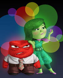 Anger and Disgust