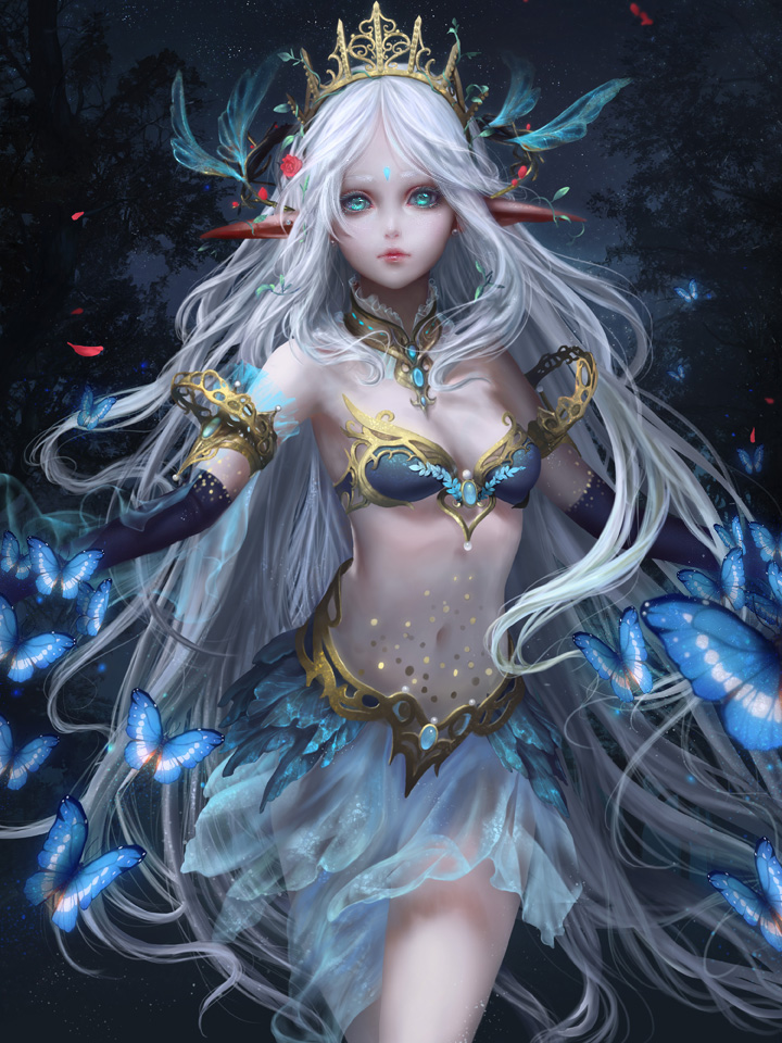 The Elf Princess By Elda Qd On Deviantart