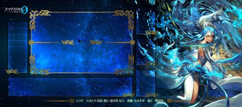 Aqua Playmat fire emblem cipher by FlowersOfSakura