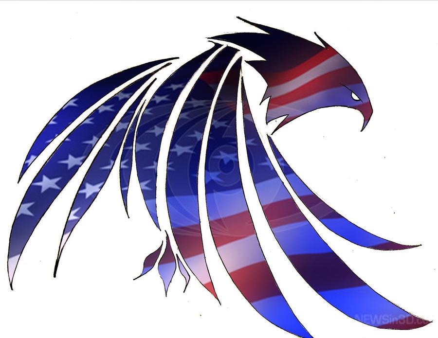 100+ Eagle Airbrush Flag Art – yasminroohi